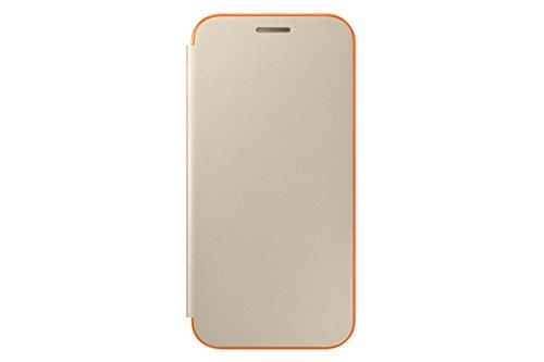 SAMSUNG EF-FA320PFEGWW - Funda para Galaxy A3 2017, Color Dorado- Versión española