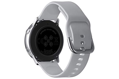 "Samsung Galaxy Watch Active Reloj Inteligente Plata SAMOLED 2,79 cm (1.1"") GPS (satélite) - Relojes Inteligentes (2,79 cm (1.1""), SAMOLED, Pantalla táctil, GPS (satélite), 25 g, Plata)"