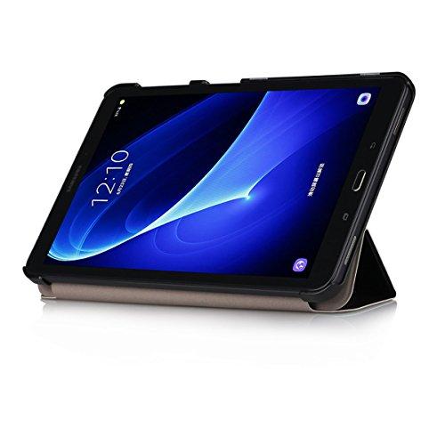 Samsung Tab A T580N Funda,Galaxy Tab A 10.1 Cover - Ultra Slim Carcasa Protección de PU Cuero Funda con Stand Función para Samsung Galaxy Tab A 10.1 Pulgadas (2016) SM-T580N / T585N Tablet,Dont touch