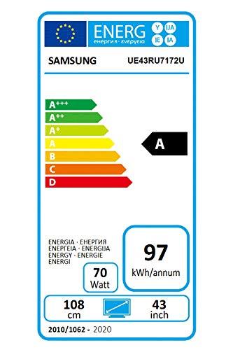 SAMSUNG UE43RU7172 - TV
