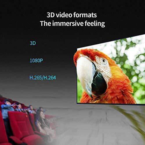 Sidiwen Android 9.0 TV Box HK1 MAX 4GB RAM 64GB ROM RK3318 Quad-Core Dual WiFi 2.4G/5G BT 4.0 Ethernet H.265 USB 3.0 Compatible con 3D 4K Ultra HD Smart TV Box