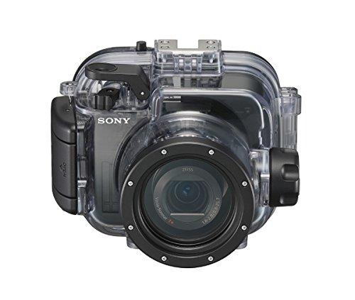Sony MPKURX100A.SYH - Carcasa submarina (Sumergible hasta 40 m, para la Serie RX100) Negro
