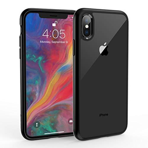 Syncwire Funda iPhone X - UltraRock Serie Carcasa para iPhone X con Protección Avanzada Ante Caídas y Tecnología de Cámara de Aire Protectora para iPhone X/10 (2017) - Color Negro Mate