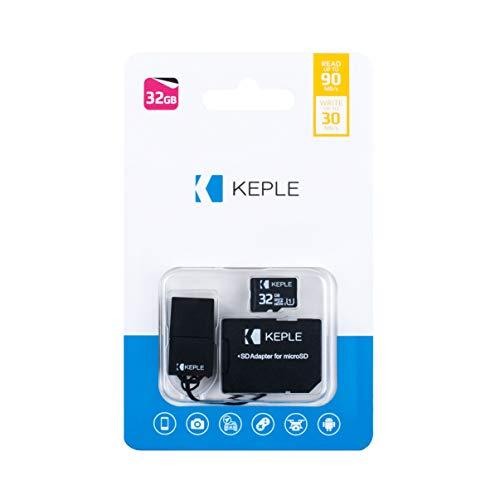 Tarjeta de Memoria Micro SD da 32GB | MicroSD Compatible con Sony Xperia E3, M2, M4 Aqua, E4, E5, Z5, E4G, Z4, C4, Z, ZL, ZR, Z Ultra, Z1, Z2 C, M, L, SP, E, E1, V, J, T, T LTE, TX, X2, Z2, Z1 | 32 GB