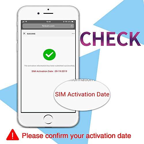 Tarjeta SIM prepagada AT&T para Estados Unidos Canadá y México – 22 GB 4G Datos, Llamadas ilimitadas y Textos
