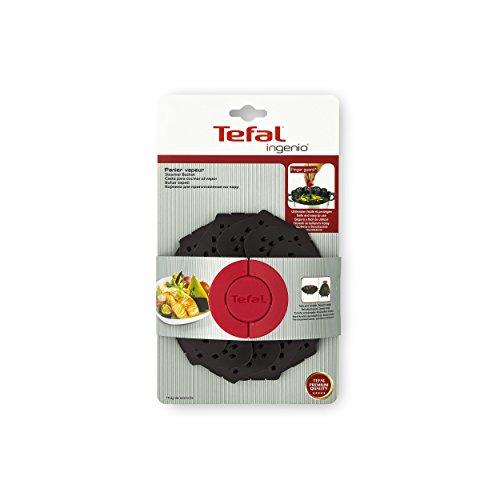 Tefal K2071614Ingenio Cesta de Silicona Vapor Color Negro 26x 15,2x 9,3cm
