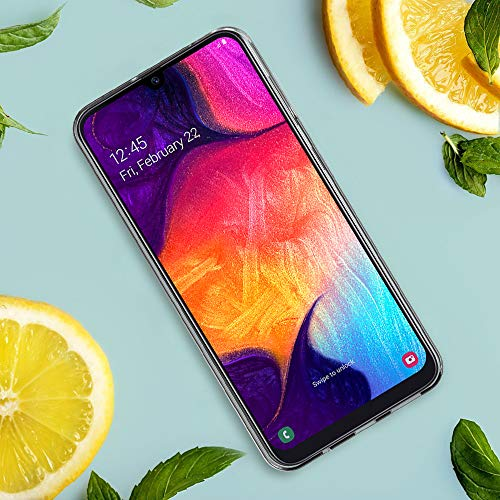 VGUARD Funda Carcasa Gel Transparente para Samsung Galaxy A50 / A50S / A30S, Ultra Fina 0,33mm, Silicona TPU de Alta Resistencia y Flexibilidad para Samsung Galaxy A50 / A50S / A30S