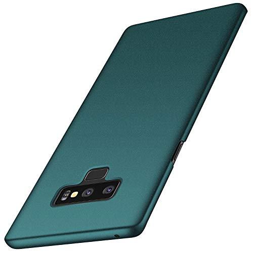 anccer Funda Samsung Galaxy Note 9, Ultra Slim Anti-Rasguño y Resistente Huellas Dactilares Totalmente Protectora Caso de Duro Cover Case para Samsung Galaxy Note9 (Grava Verde)