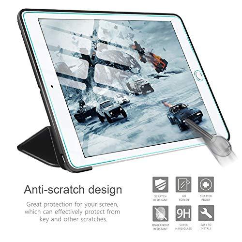 AROYI Funda iPad 2 / iPad 3 / iPad 4 + Protector Pantalla, Carcasa Silicona Smart Cover con Soporte Función Auto-Sueño/Estela para iPad 2/3 / 4