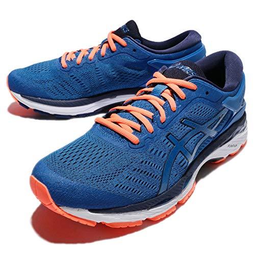 Asics Gel-Kayano 24, Zapatillas de Running Hombre, Azul (Directoire Blue/Peacoat/Hot Orange), 43.5 EU