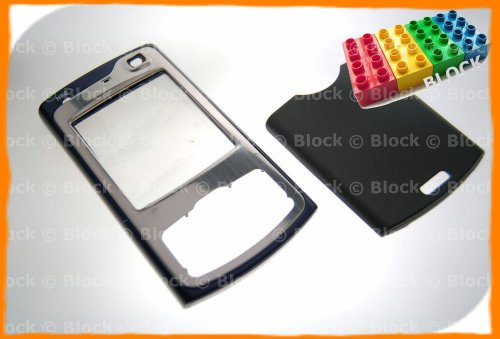 Block Entertainment - Nokia N80 - Recambio para/Carcasa Delantera y Trasera para (Azul)