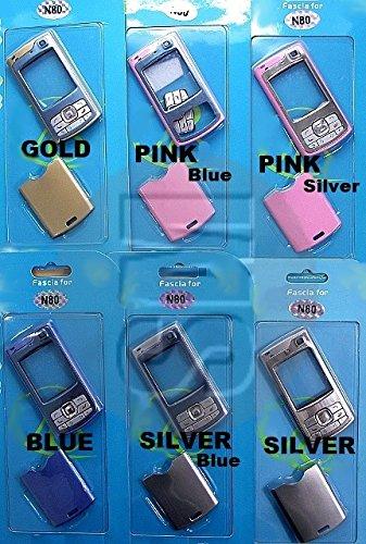 Block Entertainment - Nokia N80 - Recambio para/Carcasa Delantera y Trasera para (Rosa)