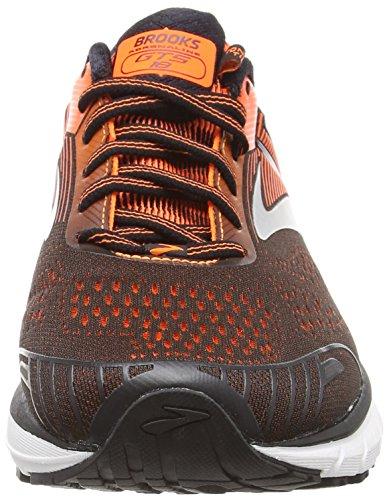 Brooks Adrenaline GTS 18, Zapatillas de Running para Hombre, Azul (Black/Orange/Ebony 047), 42 EU