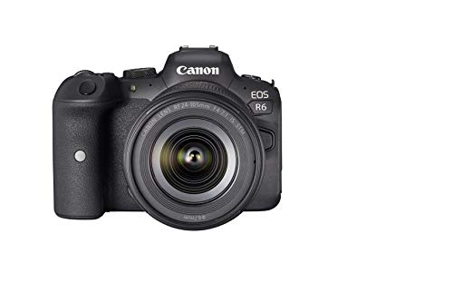 Canon - Cámara EOS R6 y RF 24-105mm F4-7.1 IS STM, Negro