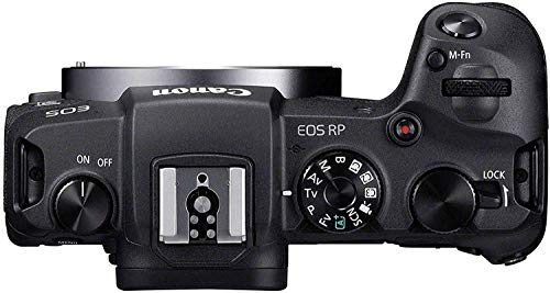 Canon EOS RP - Cámara mirrorless (Pantalla Pantalla táctil LCD táctil, Sensor CMOS, procesador DIGIC 8, Objetivos EF y EF-S RF Full Frame, WiFi Incorporado, 4 K, Eye AF)