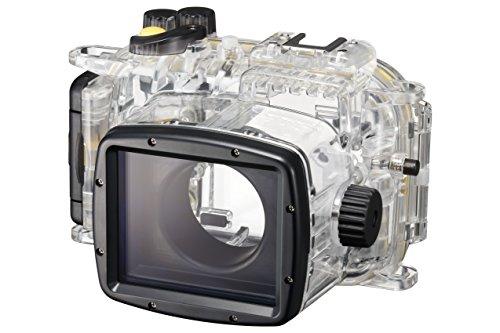Canon WP-DC55 Carcasa submarina para cámara - Carcasa acuática para cámaras (39,6 m, De plástico, Policarbonato, Negro, Transparente, PowerShot G7 X Mark II)