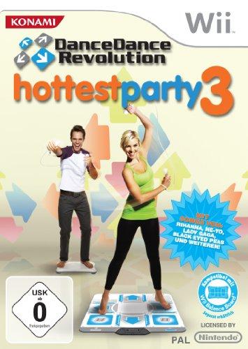 Dance Dance Revolution - Hottest Party 3 [Importación alemana]
