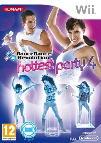 Dance Dance Revolution ? Hottest Party 4 without Dancemat (Wii) [Importación inglesa]