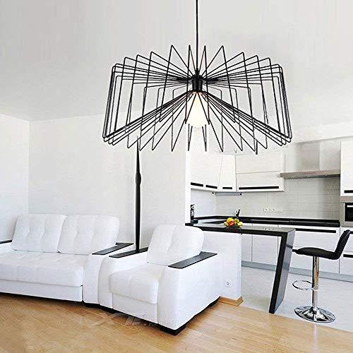Estilo retro vintage industrial hierro forjado jaula de metal lámpara colgante accesorio colgante luz araña XYJGWDD