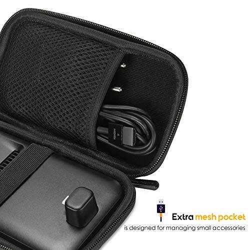 Funda para Samsung Dex, ProCase Estuche Goma EVA Rígida de Viaje, Caja Portátil de Almacenamiento, Maletín Protector Foamy Duro para Samsung Dex Pad -Negro