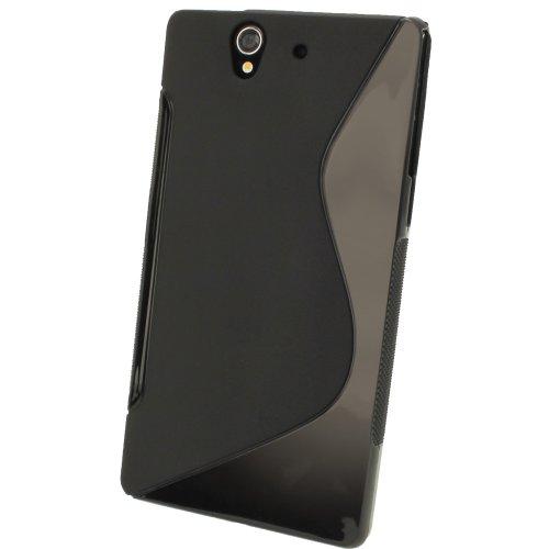 iGadgitz S Line - Funda de Poliuretano termoplástico para Smartphones Sony Xperia