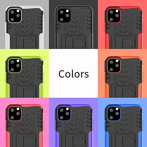 JZ Tire Pattern Design Funda para For Samsung Galaxy A5 2017 Funda with [Shockproof][Scratch-Resistant][Kickstand] - Orange
