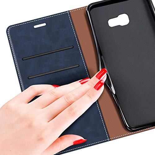 MOBESV Funda para Samsung Galaxy A5 2017, Funda Libro Samsung A5 2017, Funda Móvil Samsung Galaxy A5 2017 Magnético Carcasa para Samsung Galaxy A5 2017 Funda con Tapa, Elegante Azul