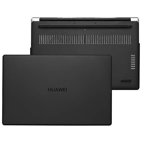 MOSISO Funda Dura Compatible con 2020 2019 Huawei MateBook D 14 Pulgadas, Estuche Rígido Plástico Carcasa Protectora, Negro