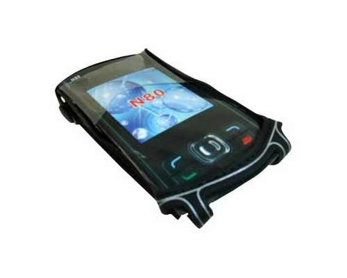 Nexxus 5051495050365 funda para teléfono móvil Negro - Fundas para teléfonos móviles (Funda, Nokia, N80, Negro)