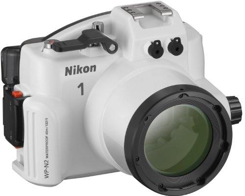 Nikon WP-N2 Carcasa submarina para cámara - Carcasa acuática para cámaras (156 x 116 x 128 mm, 750 g)