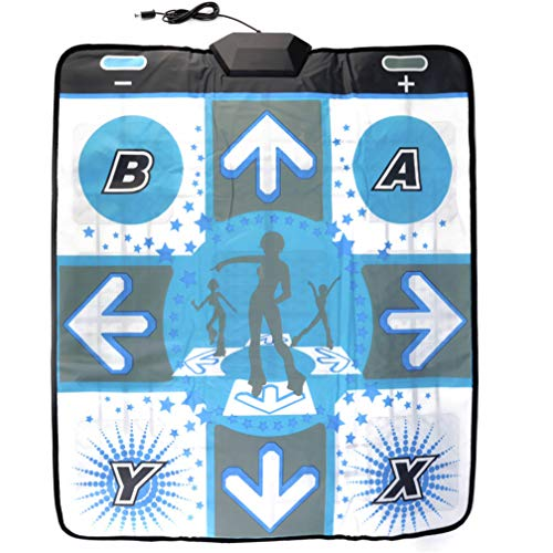 OSTENT Alfombrilla antideslizante Dancing Revolution Dancing Mat Compatible para Nintendo Wii GameCube NGC DDR Games