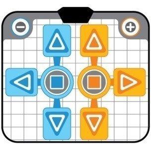 OSTENT Almohadilla de baile antideslizante Party 2 compatible con los juegos de la consola NGC de Nintendo Wii GameCube