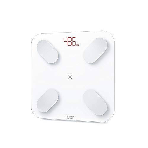 Picooc Mini White Clever Analizador de Smart Body Fat para Apple iOS y Android App
