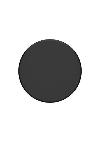 PopSockets PopGrip - Soporte y Agarre para Teléfonos Móviles y Tabletas con un Top Intercambiable - Black