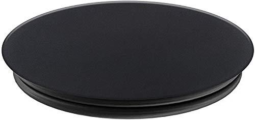 Popsockets - Soporte y Agarre (No Intercambiable) para Teléfonos Móviles y Tabletas - Black