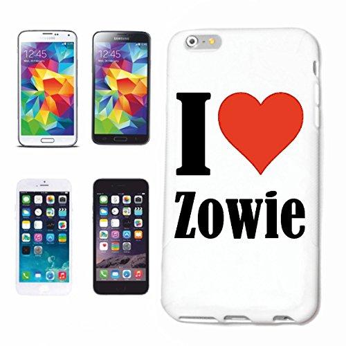 Reifen-Markt Hard Cover - Funda para teléfono móvil Compatible con Apple iPhone 6+ Plus I Love Zowie