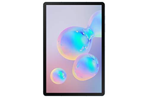"""Samsung Galaxy Tab S6 - Tablet de 10.5"""" sAMOLED (4G, Qualcomm Snapdragon 855, RAM de 8 GB, memoria interna de 256 GB, Android 9 Pie), color azul"""