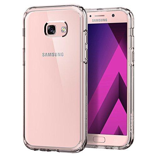 Spigen, Funda Compatible con Samsung Galaxy A5 2017, [Ultra Hybrid] Tecnología de cojín de Aire y protección híbrida de la caída - [Crystal Clear]