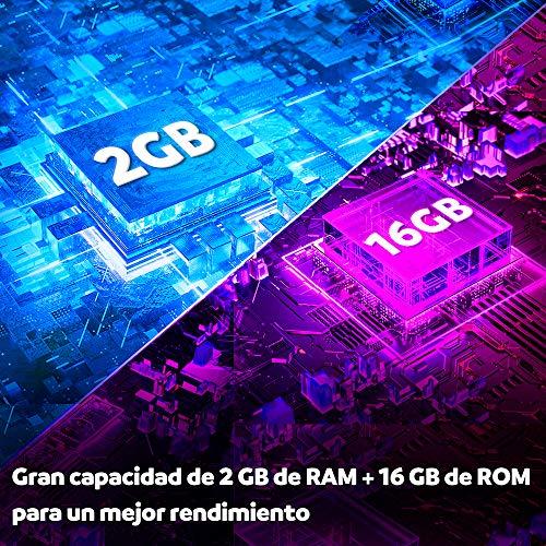 SUNNZO S9mini Android 9.0 OS TV Box con Procesador Amlogic S905W Quad Core de 64 bits 2GB RAM+16GB ROM,4K HD,H.265 (2+16GB)