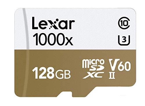 Tarjeta Lexar Professional 1000x 128GB microSDXC UHS-II