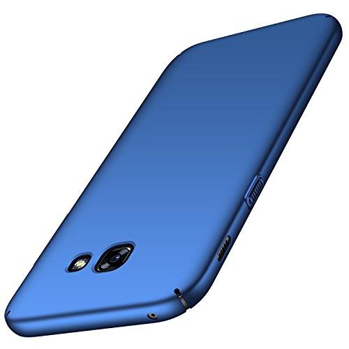 Anccer Funda para Samsung Galaxy A5 2017 [Serie Colorida] [Ultra-Delgado] [Ligera] Anti-rasguños Estuche para Samsung Galaxy A5 2017 (Azul Liso)