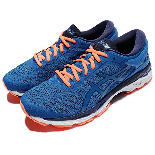 Asics Gel-Kayano 24, Zapatillas de Running Hombre, Azul (Directoire Blue/Peacoat/Hot Orange), 42.5 EU