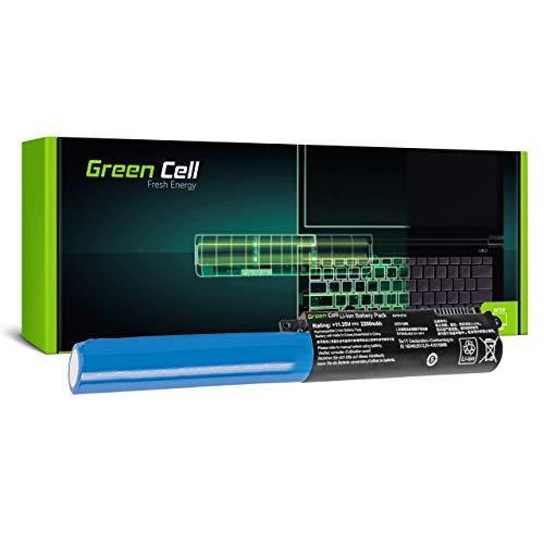 Green Cell Batería para ASUS A540 A540L A540LA A540LA-XX014T A540LJ A540N A540NA A540NV A540S A540SA A540SA-XX117T A540SA-XX123T A540SC A540U A540UA Portátil (2200mAh 11.25V Negro)