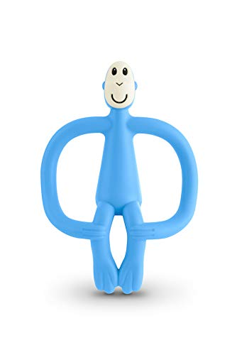 MATCHSTICK MONKEY MM-T-007 - Teething toy, color light blue