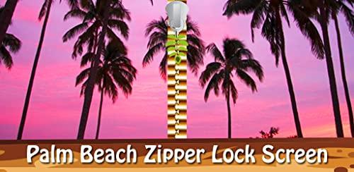 Pantalla Palm Beach de la cremallera de bloqueo