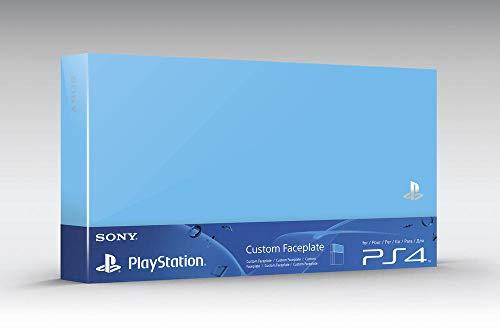 Sony - Carcasa Intercambiable Para Consola Playstation 4, Color Azul Aqua