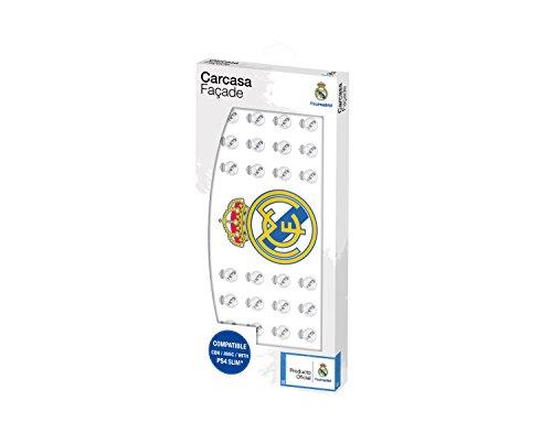 Subsonic - Faceplate Carcasa Customizada Licencia Oficial Real Madrid (PS4 Slim)