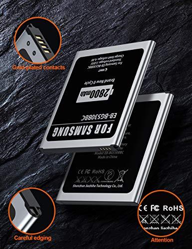 2800mAh Batería para Samsung Galaxy J3/J5,EMNT de Alta Capacidad Reemplazo de Ion de Litio batería de Repuesto Compatible con Original Galaxy J3/J5 Sin NFC-【2 años de Garantía】
