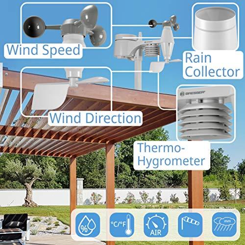Bresser 7002550GYE000 Estación meteorológica, Blanco