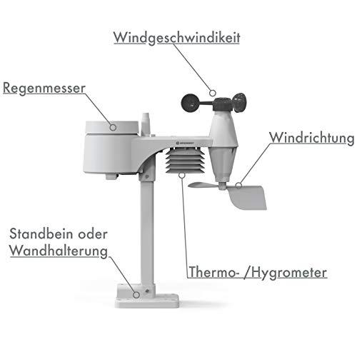 Bresser Wetter Center - Estación meteorológica 5 en 1